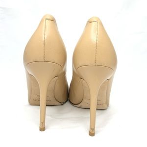 Jimmy Choo Shoes - JIMMY CHOO tan leather pointed toe pumps size 39.5
